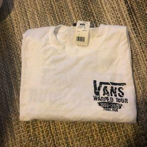 Vans Warped Tour Tee Shirt